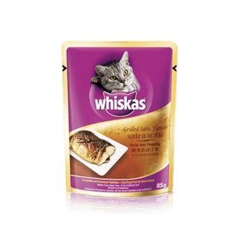 ซื้อ วิสกัส แบบซอง แมวโต รสปลาซาบะย่าง 24 ซอง
