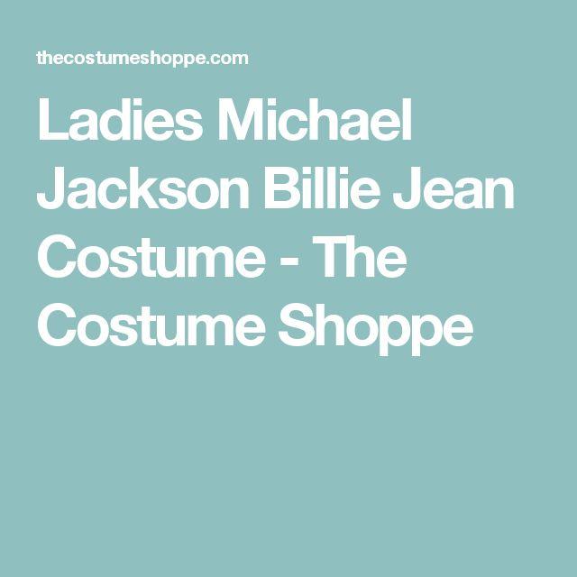 Ladies Michael Jackson Billie Jean Costume - The Costume Shoppe