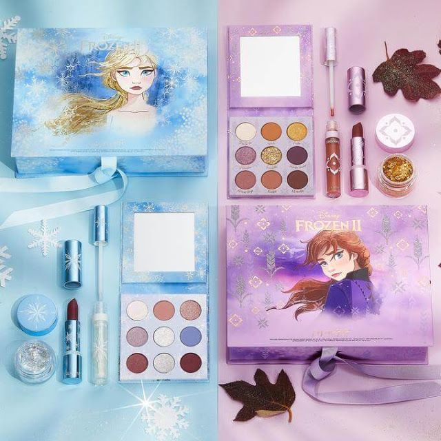 Colourpop S New Frozen 2 Makeup Collection Disney Makeup Frozen Makeup Colourpop