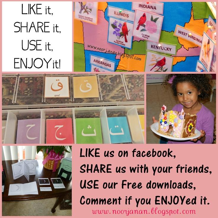 Like it, Share it, Use it, Enjoy it!