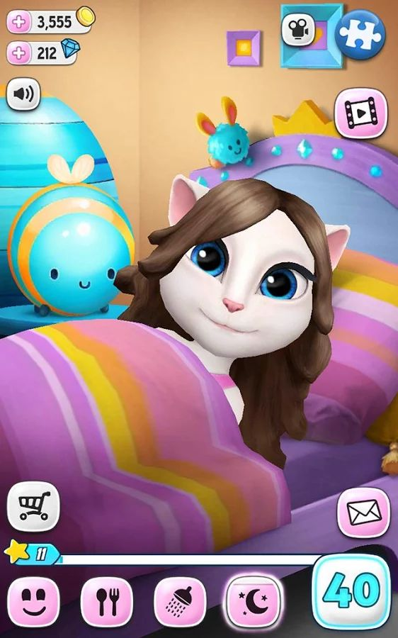 Minha Talking Angela - screenshot
