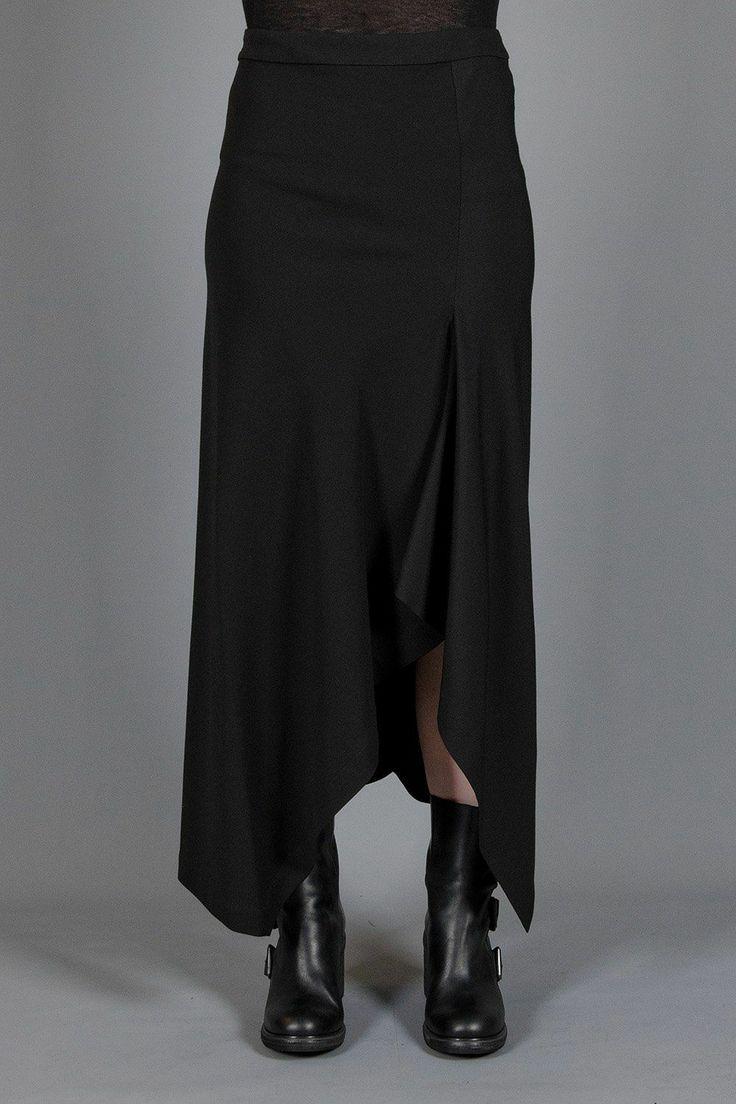 draping skirt - PEACHOO + KREJBERG - Layers London