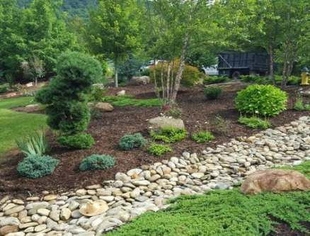 30 trendy yard drainage solutions backyards river rocks ...
