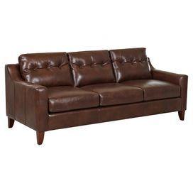 Sleeper Sofas Martina Leather Sofa