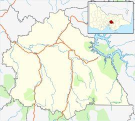 Alexandra is located in Shire of Murrindindi