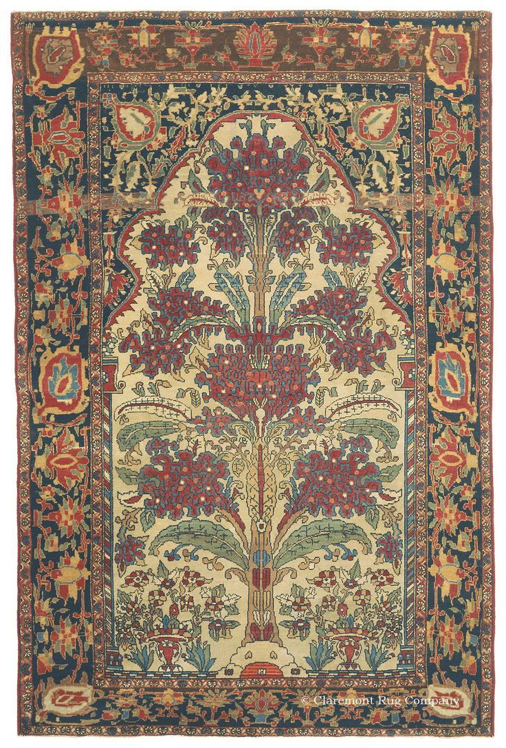 New Brochure The Published By Claremont Rug Company Highlights Antique Carpets From Second Golden Age Of Persian Weaving