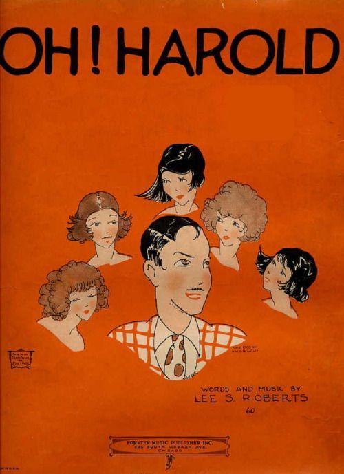 1923 - Oh! Harold  roaring twenties college song