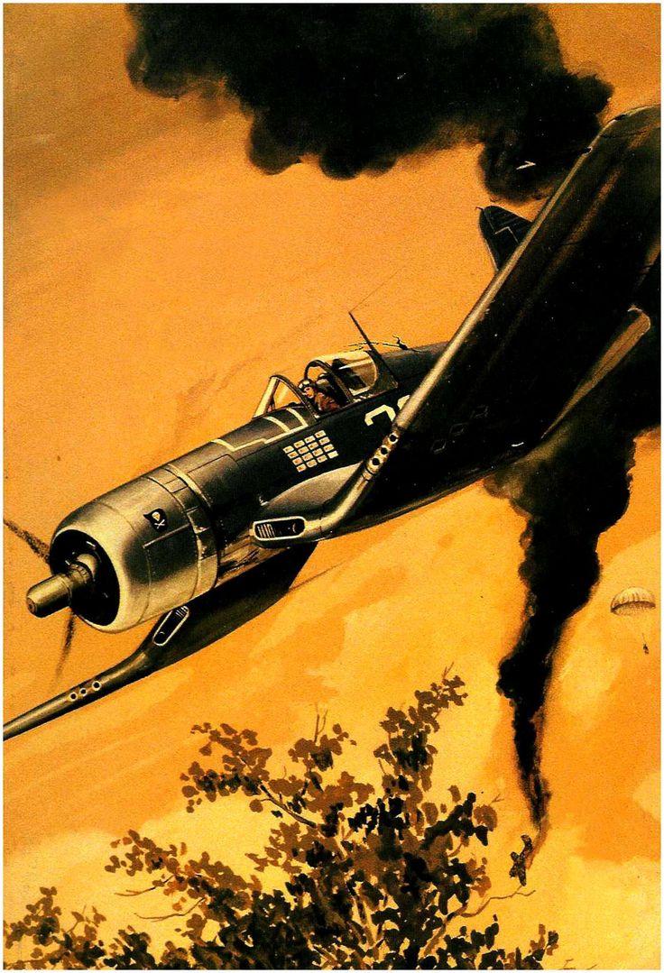 Vought F4U-A1 Corsair «Blanco 29» perteneciente al Teniente Ira 'Ike' Kepfordy del VF-17 «Jolly Roger» se anota otra victoria contra los japoneses.  http://www.elgrancapitan.org/foro/viewtopic.php?f=52&t=17924&p=915492#p915469
