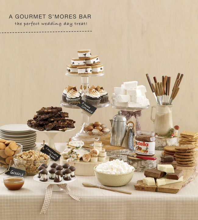 Gourmet S'mores for your Wedding