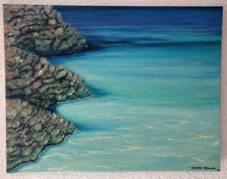Acrylic 75*60 cm #beatrizstawiskicardenas @paintings.beatriz.stawiski