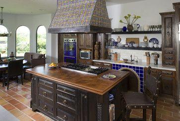 Spanish Mediterranean Kitchen | Spanish Kitchen Design Ideas, Pictures, Remodel, and Decor