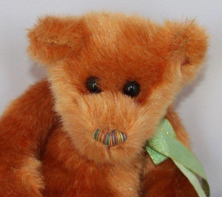 Ty Classic Skootch Golden Brown Teddy Bear 14 inches Plush Stuffed Animal 2000 #Ty