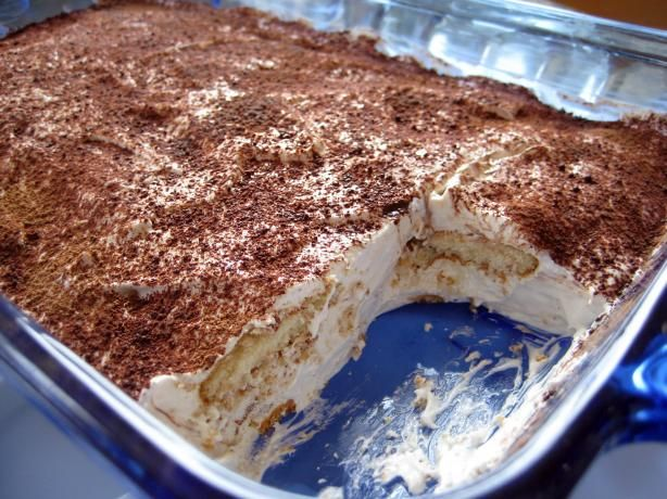 Easy Nilla Tiramisu OMG so good--but I added a LOT more Kahluah! MMMMMM!!