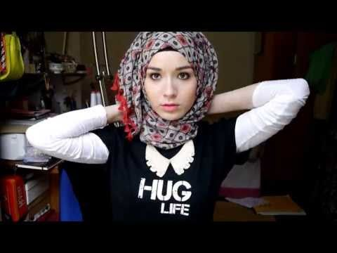 ▶ 3 Easy Summer Hijab Tutorials - YouTube
