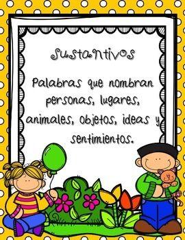 In SPANISH /   Partes de la Oración