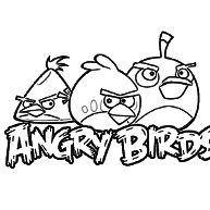 kleurplaten angry birds rio