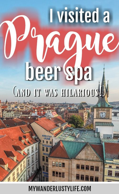 I Visited a Prague Beer Spa and It Was Hilarious! | Prague, Czech Republic | Czechia | Things to do in Prague | Unique things to do in Prague | Unique Prague experiences | Where to drink beer in Prague | What to do in Prague | Fun things to do in Prague |