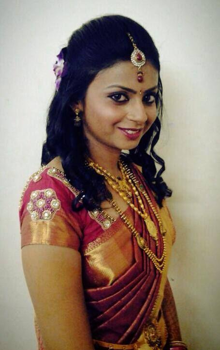 South Indian Bridal Reception Wear 110