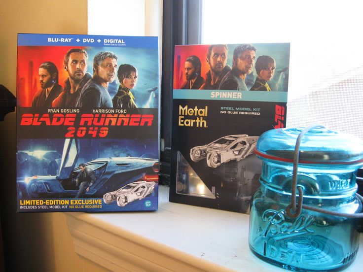 """I got """"Blade Runner 2049"""" on Blu-ray today...Awesome sequel!"""