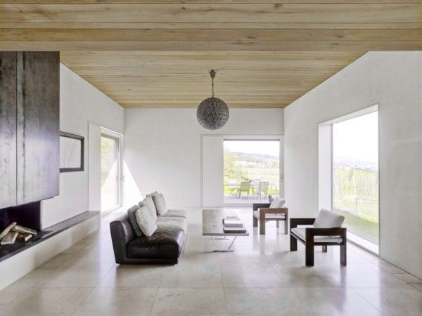Main Room Design from Modern Minimalist House with Amazing Surrounding in Winterthur Switzerland 600x450 Modern Minimalist House with Amazing Surrounding in Winterthur, Switzerland