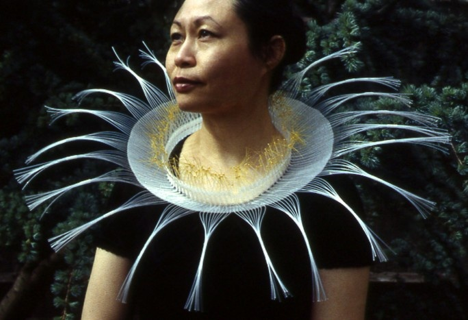 Nora FOK - 2003 - Woven, knotted, pigmented and clear nylon