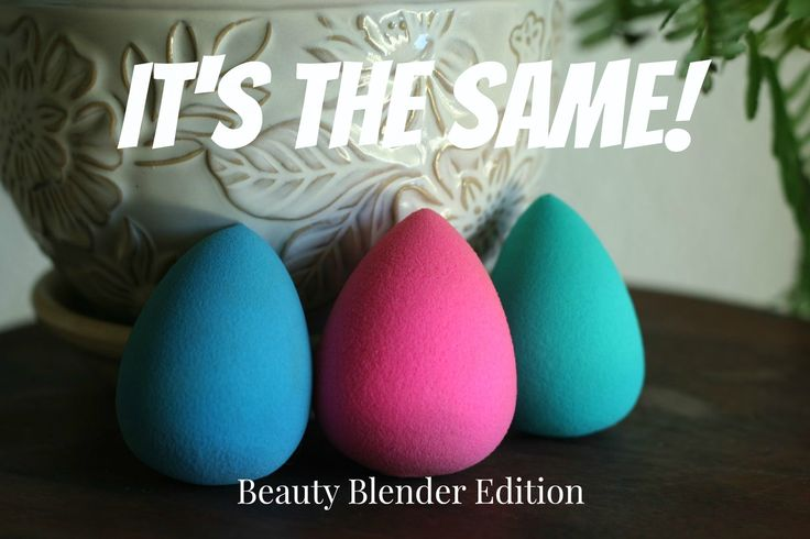 I found the cheapest Beauty Blender dupe! ok amazon.com has some really awesome dupes so go check that out to blend concealer or BB creams remember to wet them for best results!