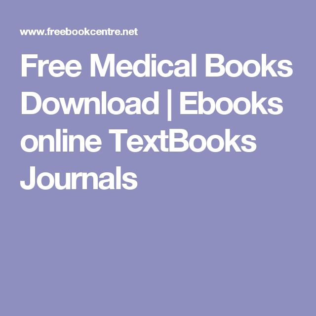 Free Medical Books Download | Ebooks online TextBooks Journals