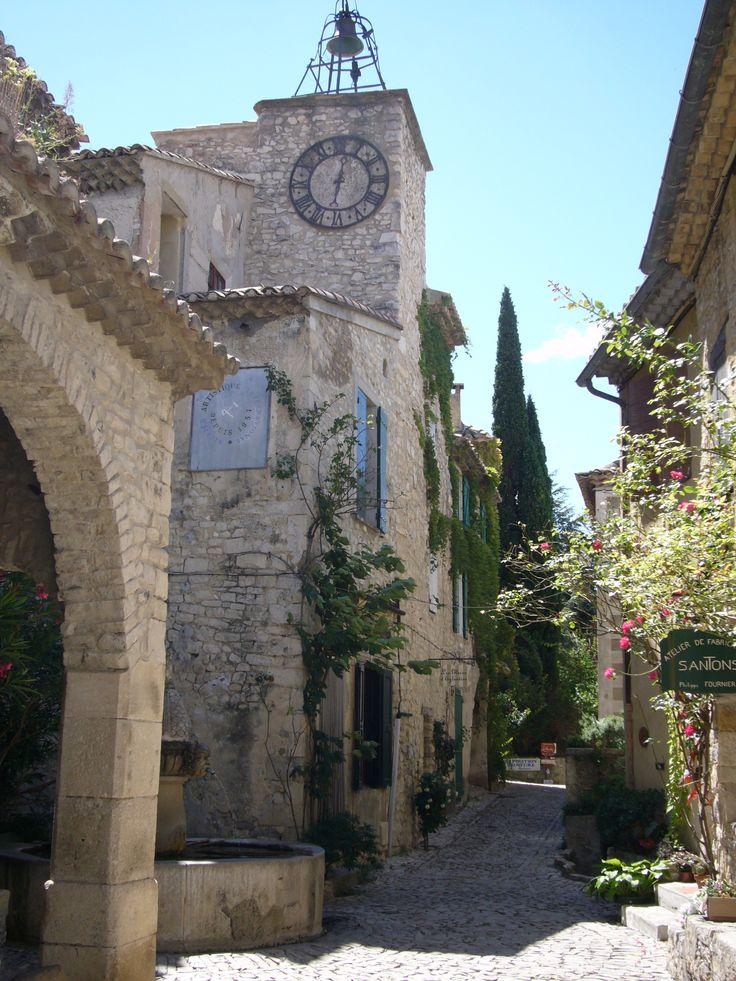 Séguret, Vaucluse, France