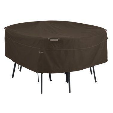 This Madrona™ RainProof™ Round Patio Table & Chair Set Cover is perfect! #zulilyfinds