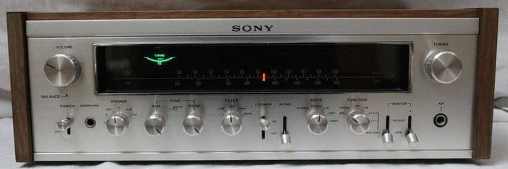 Sony Vintage Stereo Receiver STR-7055A AM/FM Radio Walnut Case Works Audiophile #Sony #Vintage #Stereo #Receiver #Radio #Walnut #Case #Works #Audiophile #Music #Amp