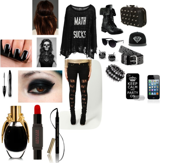 U0026quot;luv this bad ass outfit!u0026quot; by lolabledsoe on Polyvore | Bad Ass | Pinterest | Outfit sets ...