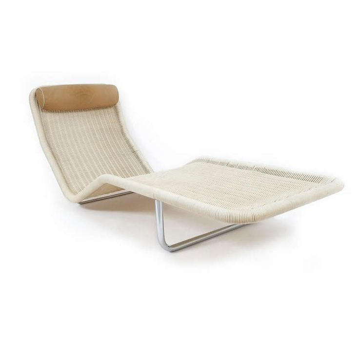 Chaise Longue by Antti Nurmesniemi, 1968 | From a unique collection of antique and modern chaises longues at http://www.1stdibs.com/furniture/seating/chaises-longues/