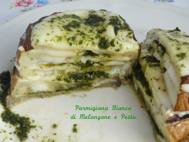 parmigiana melanzane pesto