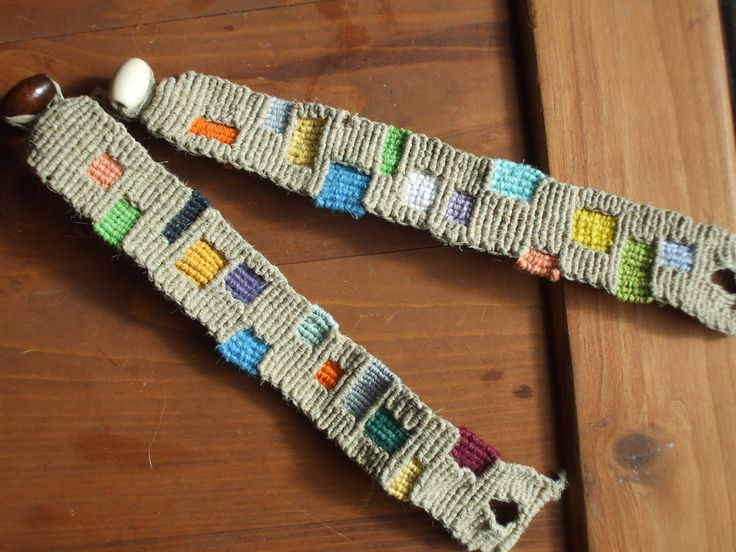 Hemp Patch Bracelet.