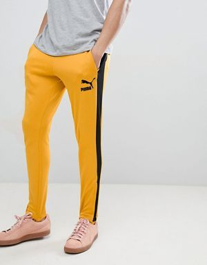 75954e219 Puma T7 Vintage Joggers In Yellow 57498748 | Street Style: in 2018 ...