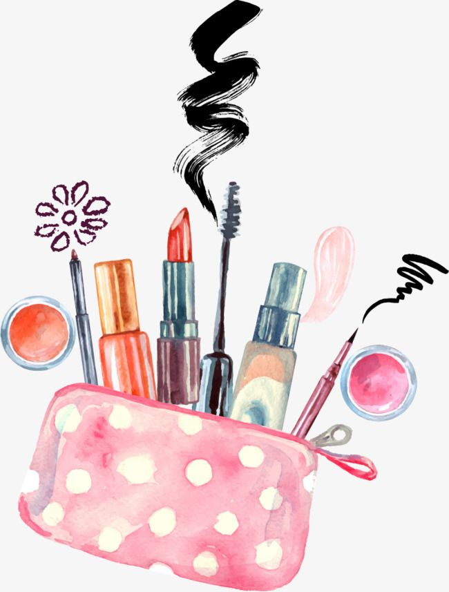 Vector Hand Painted Makeup Vector Hand Painted Makeup Png And