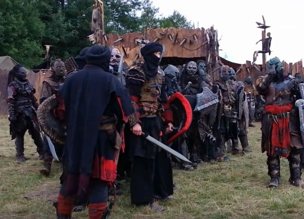 DRACHENFEST 2016 Orklager OCL - Harad and orcs