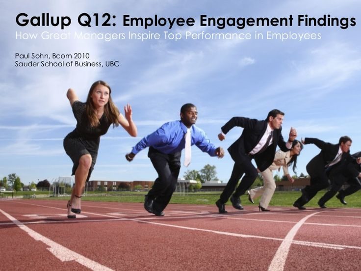 Gallup Q12's Employee Engagement Findings