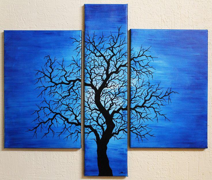 Les 25 meilleures id es de la cat gorie peinture acrylique - Peinture acrylique sur bois ...