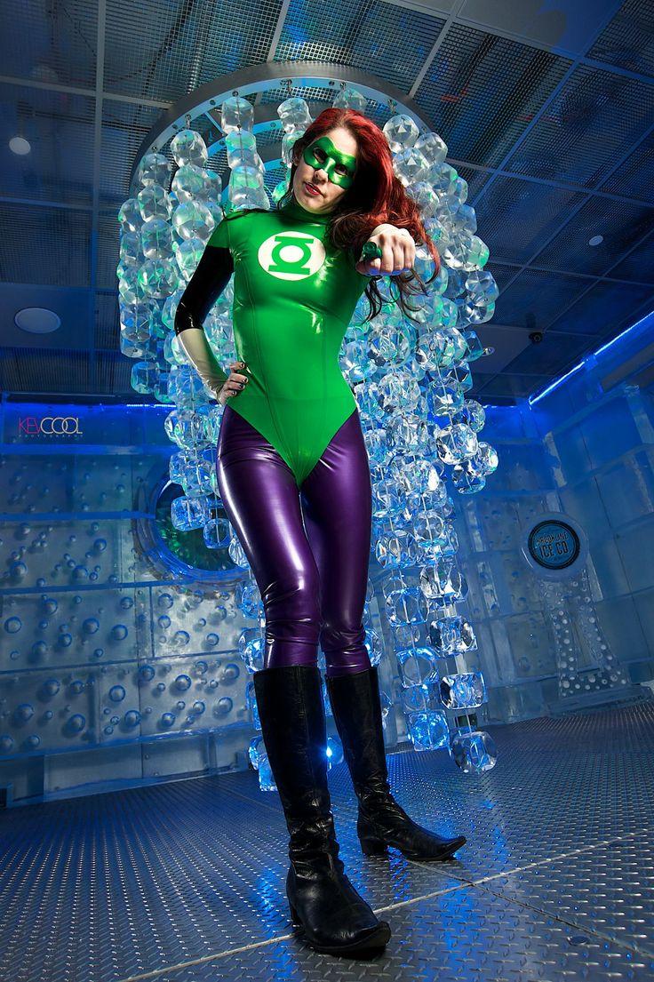 Latex Superhero Costume 60