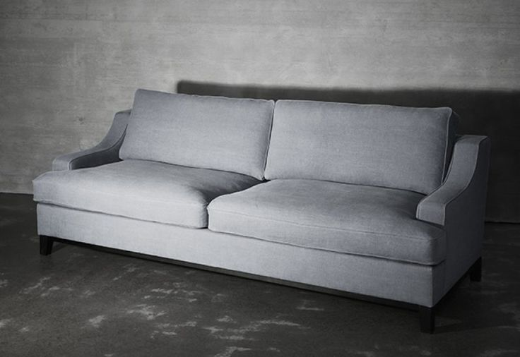 Layered's  Imperial Sofa Dusty Gray. A classic and timeless design that never goes out of style. Comfortable yet refined, the Imperial Sofa is created with delicate lines. With excellent comfort combined with quality, this sofa is the epitome of modern elegance. Delivered within 6-8 weeks. Europe Free Shipping. See more at: http://layeredinterior.com/product/imperial-sofa-2/