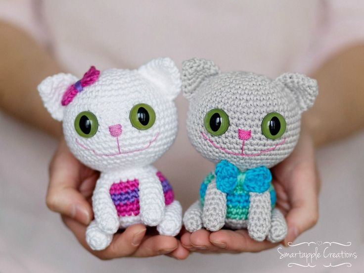 Amigurumi Animals For Beginners : 42 Best images about Free Cat Crochet Patterns on ...
