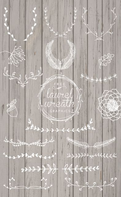 Free Laurel Wreath Graphics   Designs By Miss Mandee