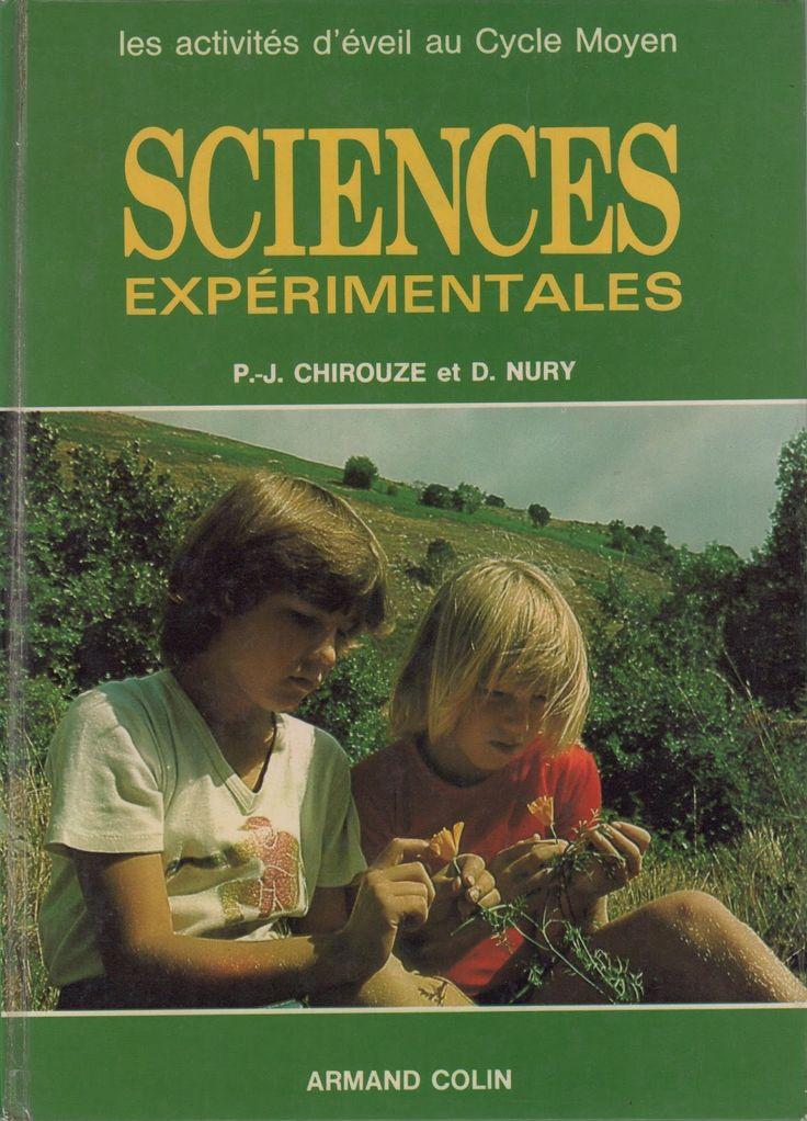 école : références: Chirouze, Nury, Sciences expérimentales, Cycle Moyen (1981)