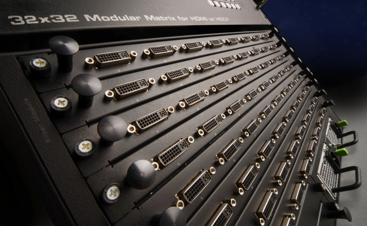 The new GefenPRO Modular Matrix for HDMI w/ HDCP offers installers and integrators unlimited potential with its customizable output cards, including ELR! http://www.gefen.com/