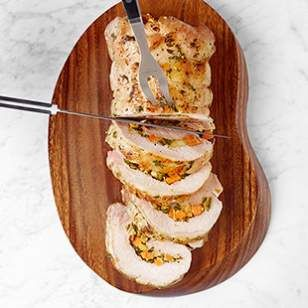 , Sweet Potato & Apple Stuffed Pork Loin | Recipe | Stuffed Pork ...