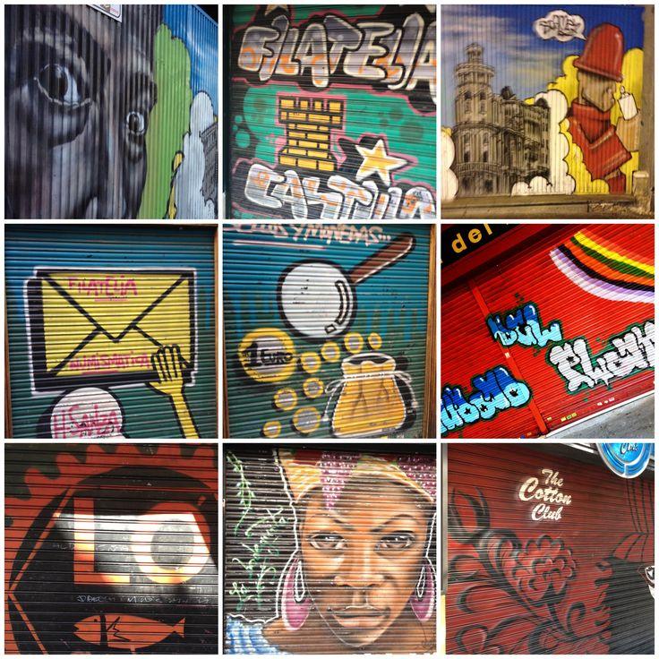 Graffiti in centre of Madrid (2013)