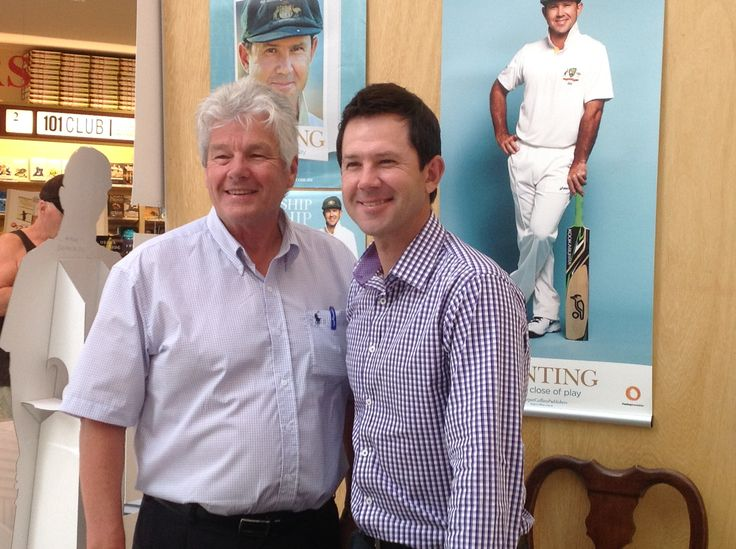 Our Big W rep Paul in WA was excited to a get a photo with Punter!