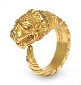 I purchased a vintage Zolotas ring in 18kt last month and now I want everything in their archive.