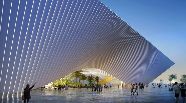 Gallery of Foster, BIG and Grimshaw Design Main Pavilions for Expo 2020 Dubai - 7